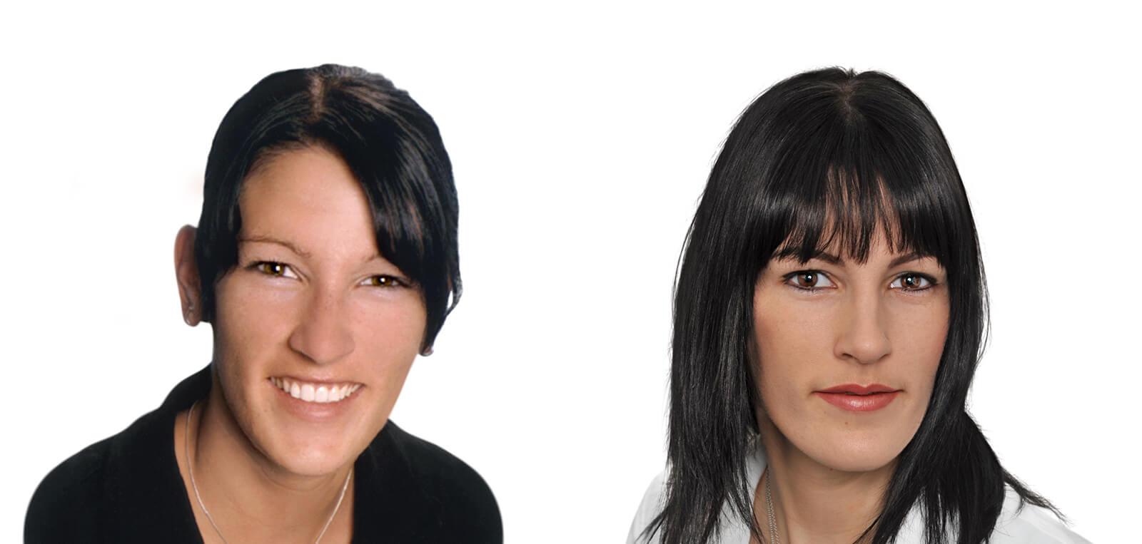 Permanent Make-Up vorher/nachher komplett Damen 06 | Der Jungbrunnen Aichach